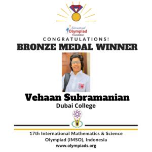 Bronze Medal 3 Maths