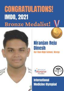 Niranjan Bronze-IMDO