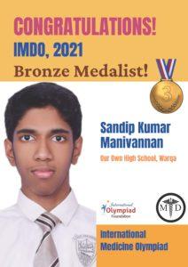 Sandip Kumar Manivannan Bronze-IMDO