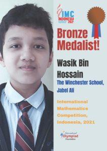 Wasik Bin Hossain Bronze-IIMC